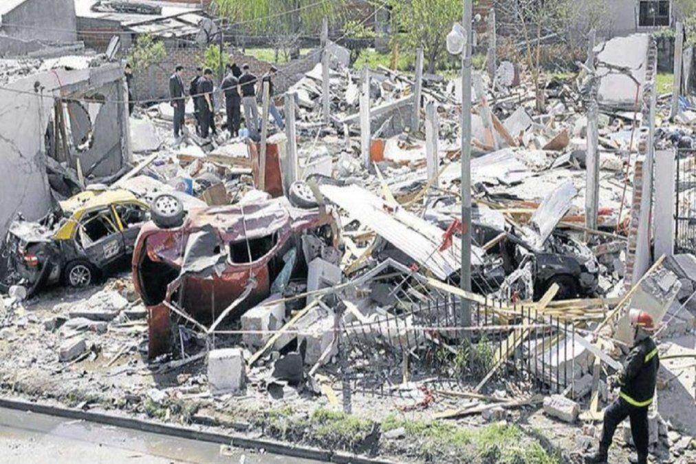 La explosión ocurrió en la avenida Luis Vernet, entre Los Andes y Garreador, en el barrio de Zaizar, Monte Grande.