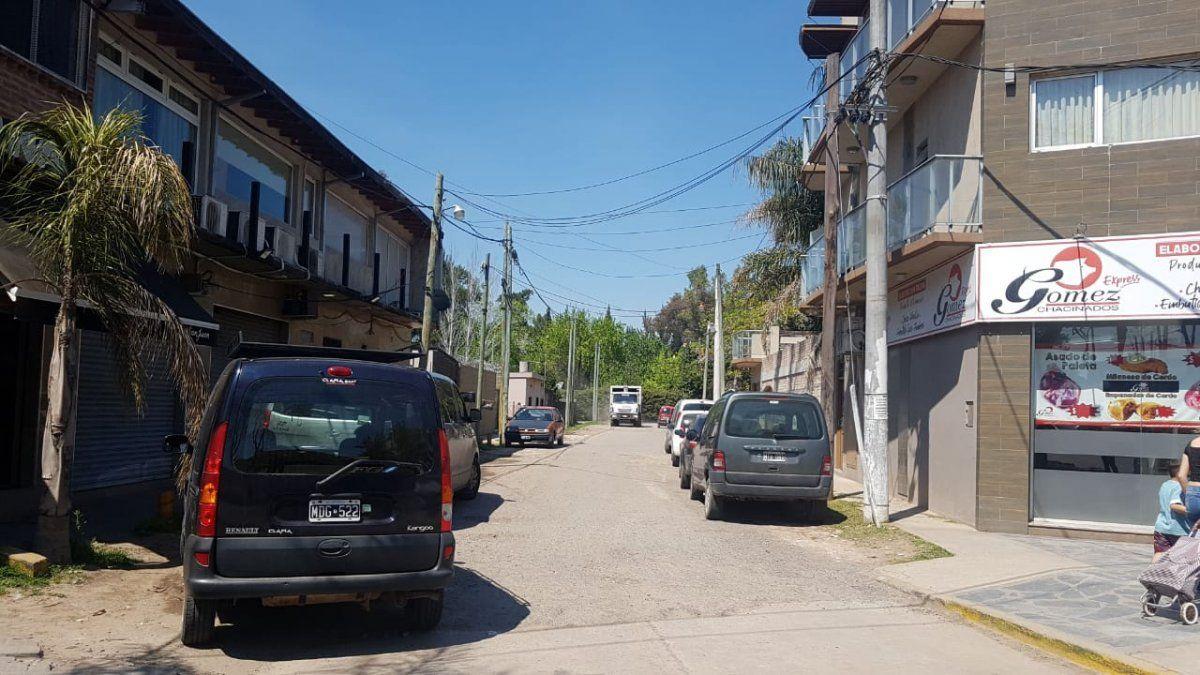El tramo de Urquiza que será pavimentado en Alejandro Korn.