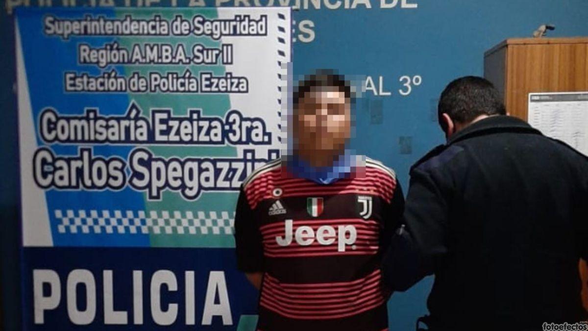 Un joven de 19 años de Ezeiza fue detenido por apuñalar a otro de 18.