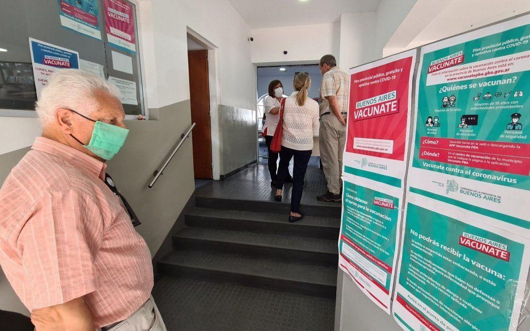La provincia otorgó nuevos turnos para las segundas dosis