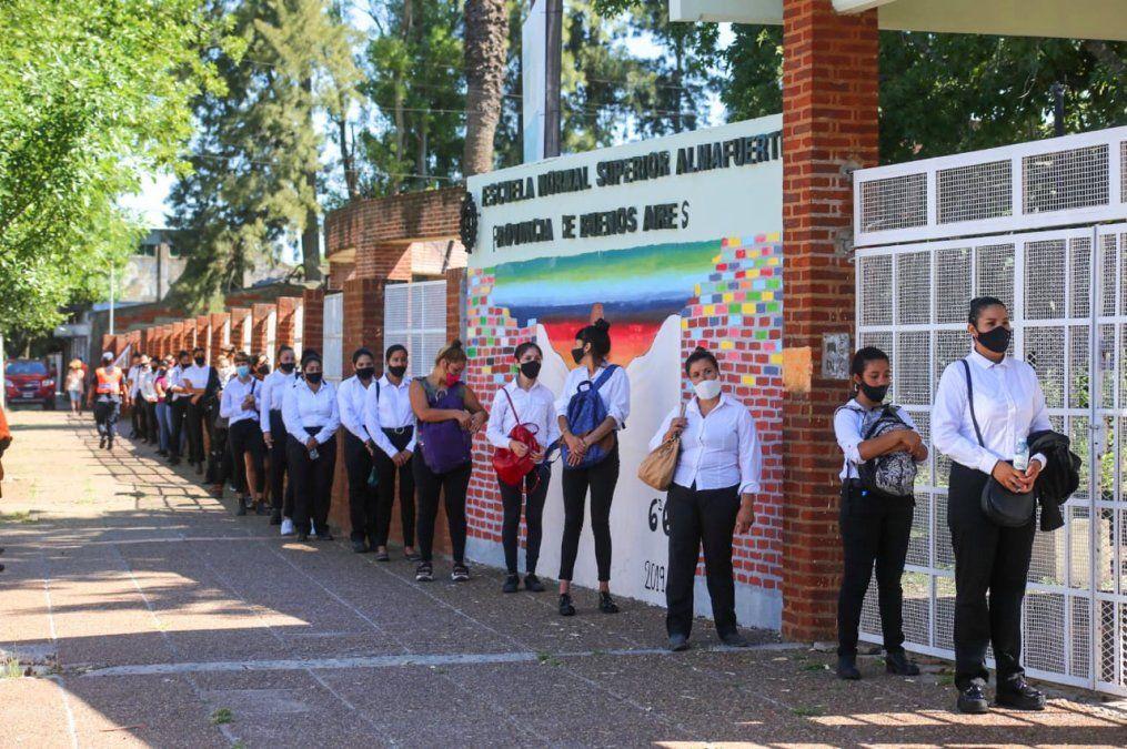 Inscripción récord para la Policía en San Vicente: 250 aspirantes
