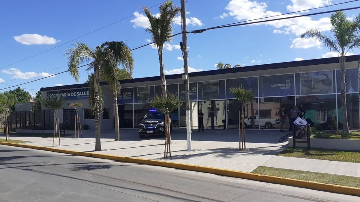 El nuevo edificio de la Secretaría de Salud de Ezeiza.