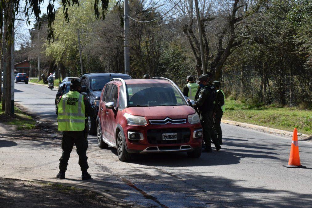 Operativo de Gendarmería en Canning.