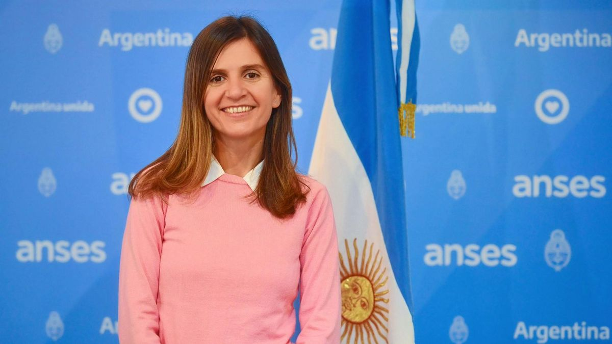 Fernanda Raverta, directora de Anses.