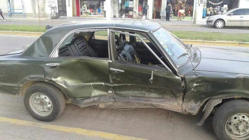Accidente en San Vicente: dos heridos