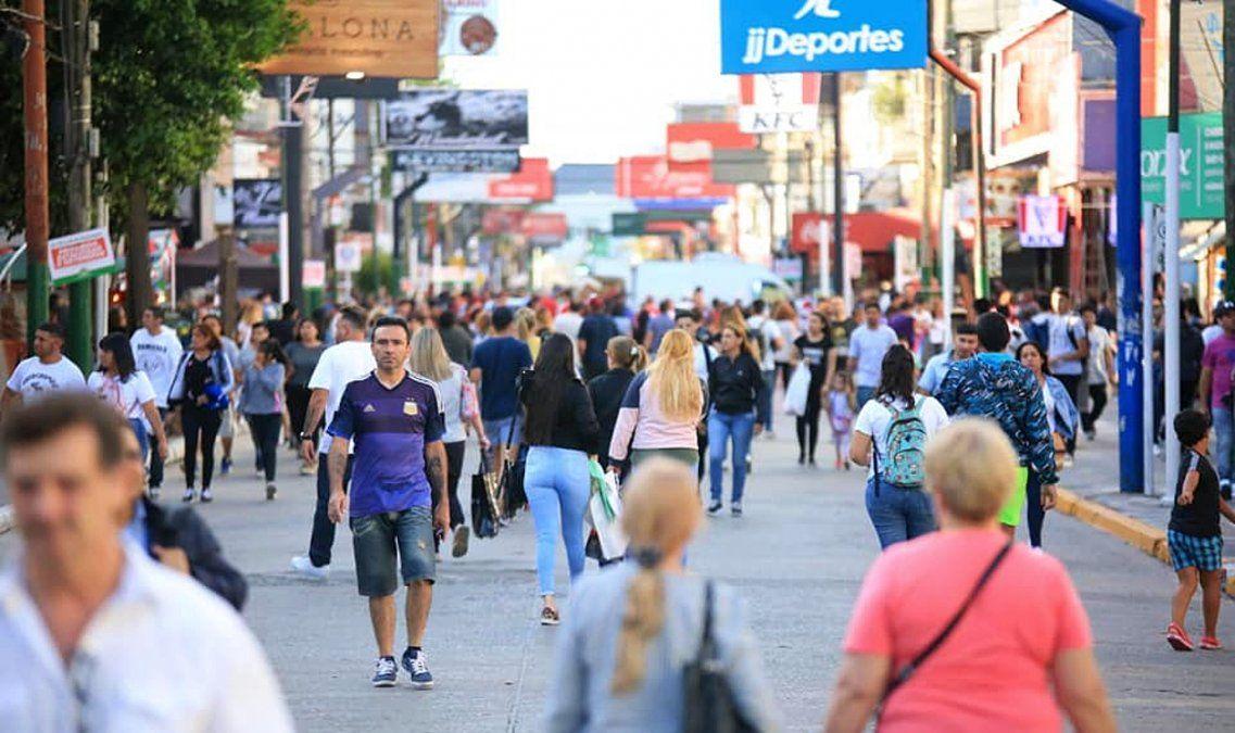 Alem, Evita y Restelli serán peatonales antes de las fiestas