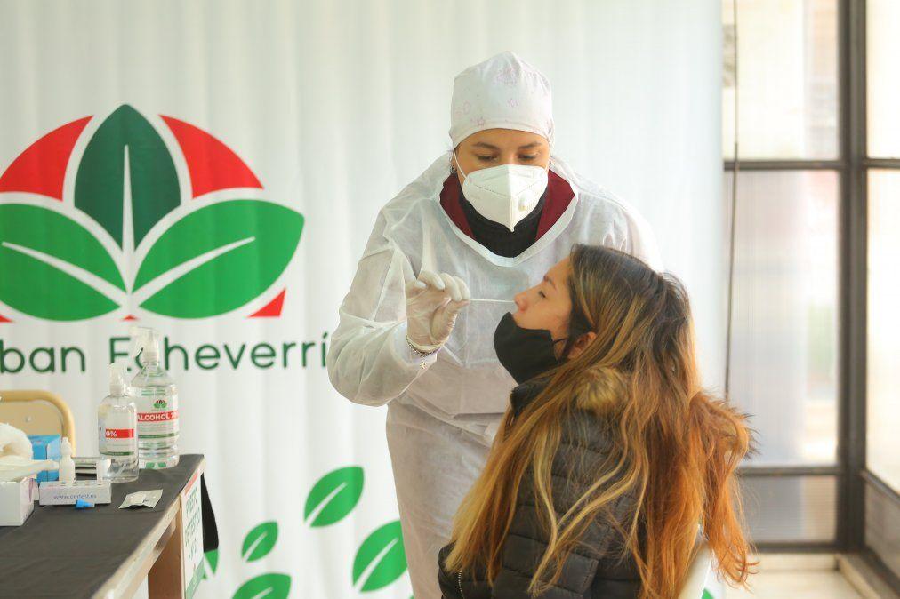 Abrió en Monte Grande un centro de testeo para jóvenes