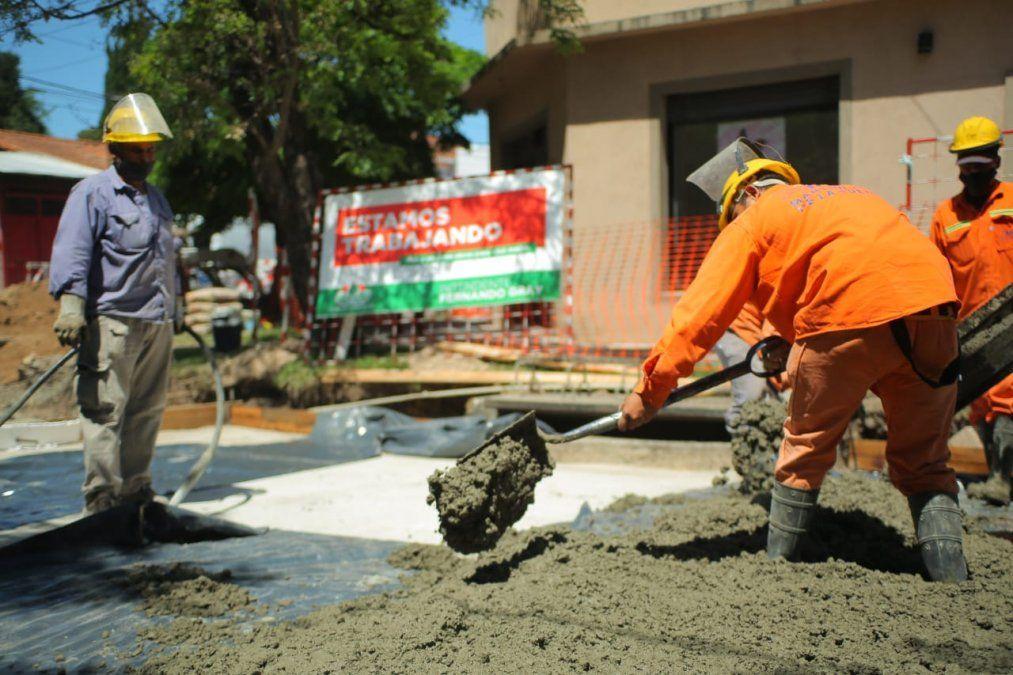 Obras de bacheo en Monte Grande: cortes hasta diciembre