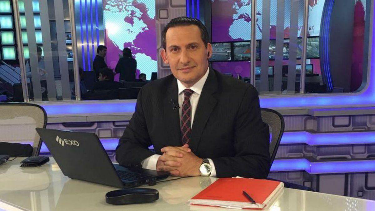 El periodista Paulo Kablan tiene coronavirus
