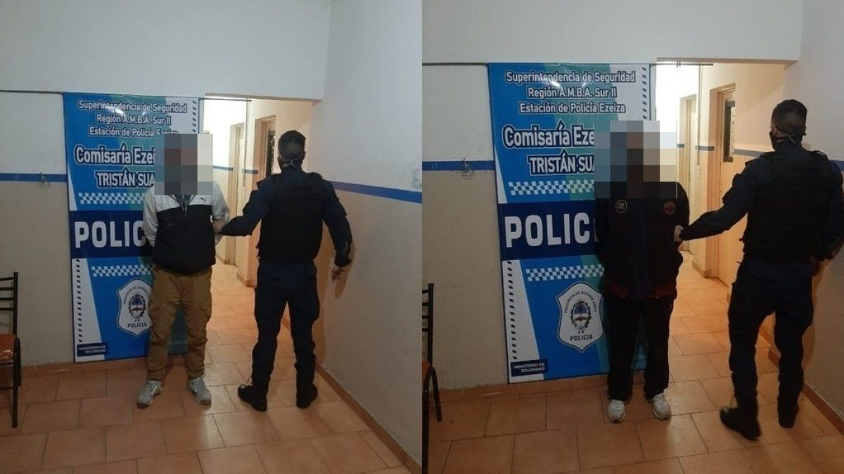 Dos delincuentes fueron detenidos cuando intentaban entrar a robar en una escuela de Ezeiza.