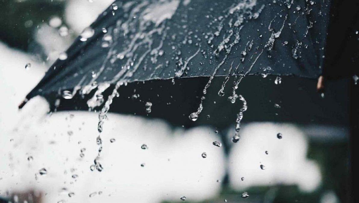 Lluvias y tormentas en la región.