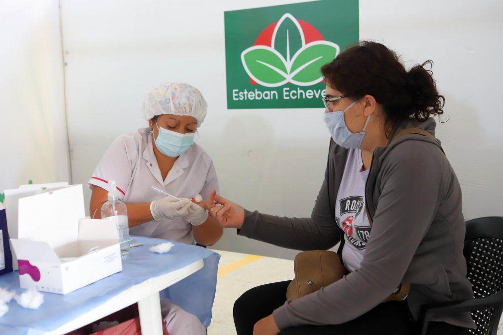 Testeo gratis en Echeverría: ¿dónde se realizan esta semana?