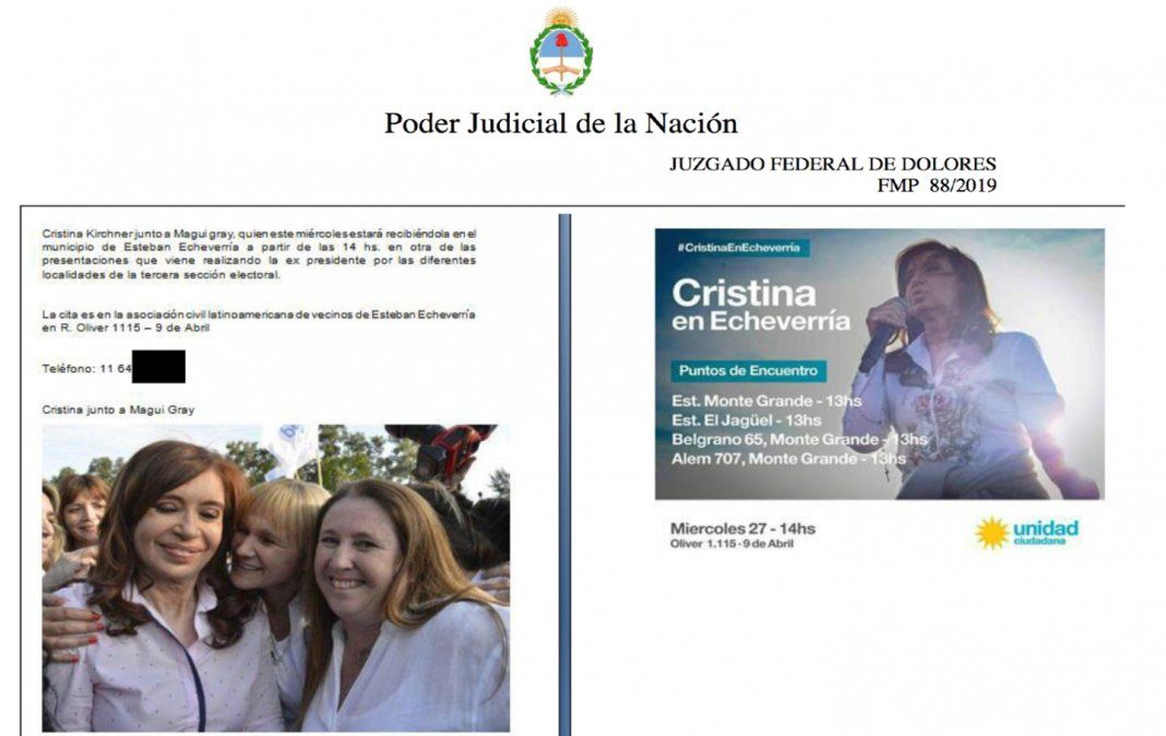 La AFI de Macri hizo espionaje ilegal en Echeverría y Ezeiza