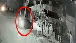 video: asi entraron a robar a una casa en lanus