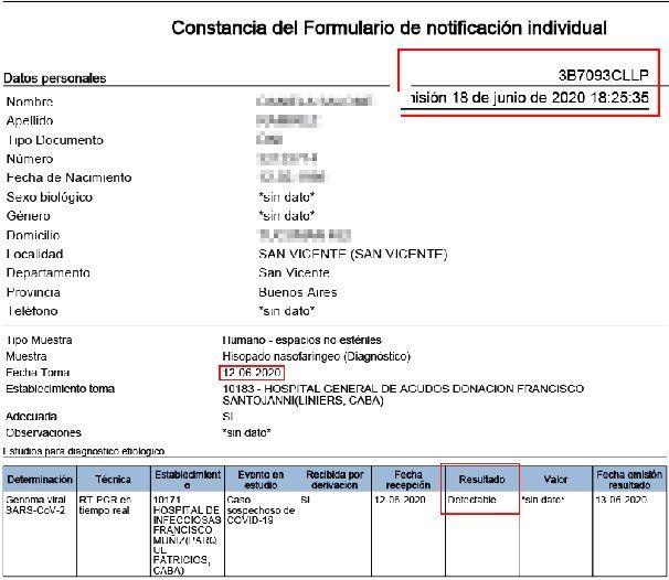 ¿Reinfección de Covid-19 en San Vicente? Una mujer volvió a dar positivo 3 meses después