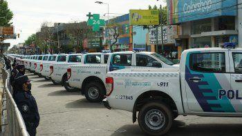 Nuevos patrulleros en Esteban Echeverría: