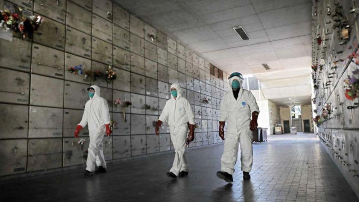 100 mil muertos por coronavirus: cuántos son de la región