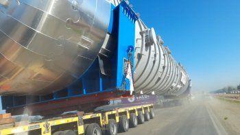 Canning: El tanque continúa su recorrido hasta Burzaco
