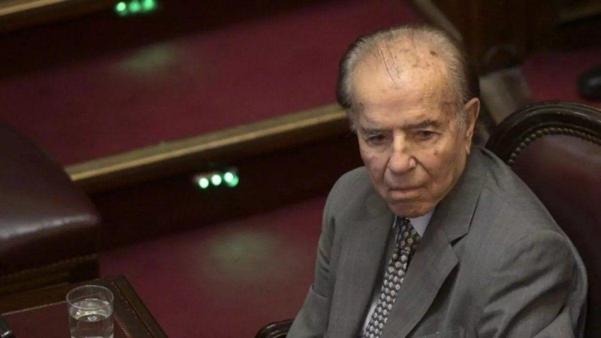 Carlos Menem falleció a los 90 años