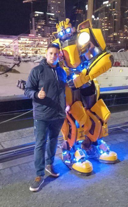 El Transformers recorre la región y también la Ciudad de Buenos Aires.