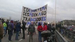 corte total y protesta en puente pueyrredon