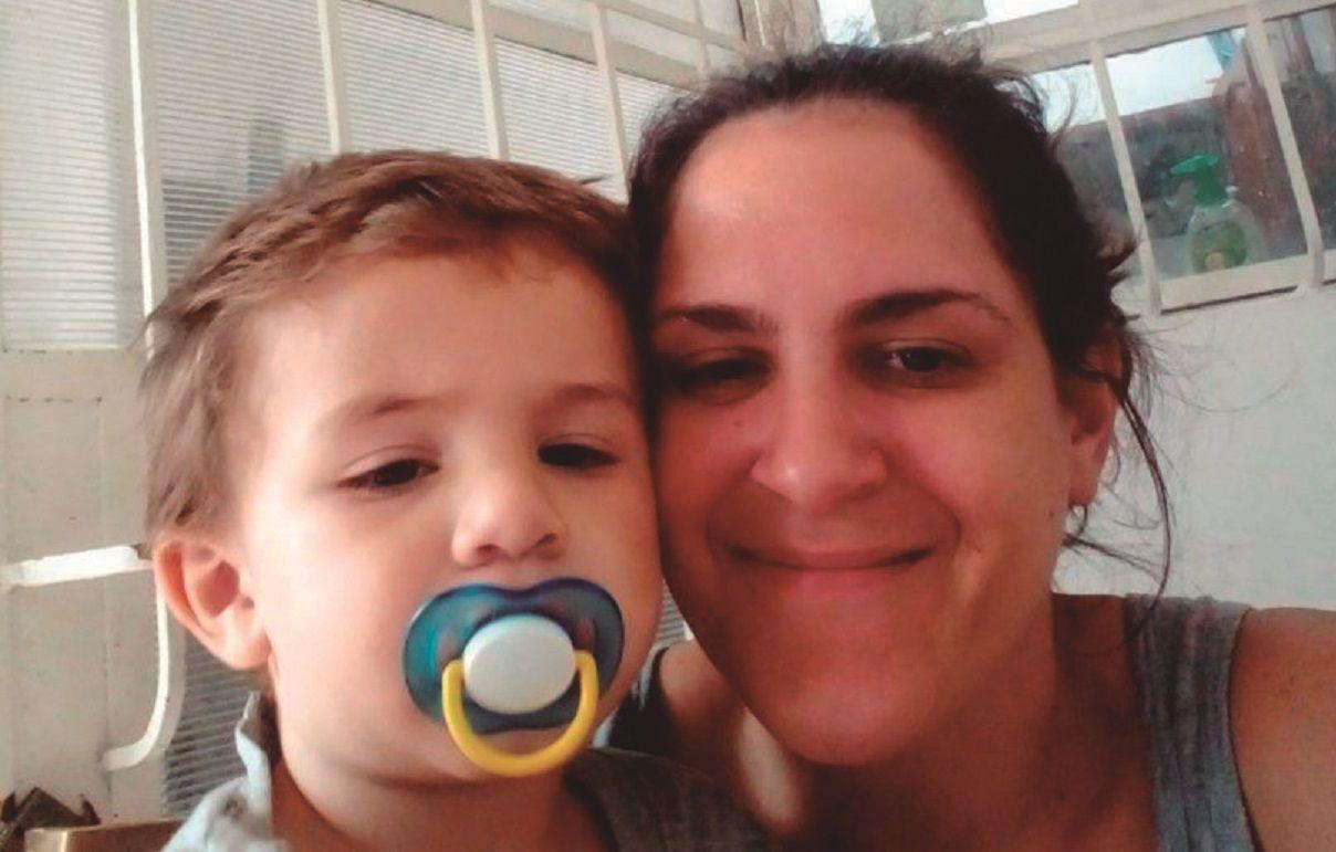 vanina angueira, una madre que lucha en nombre de miles de madres