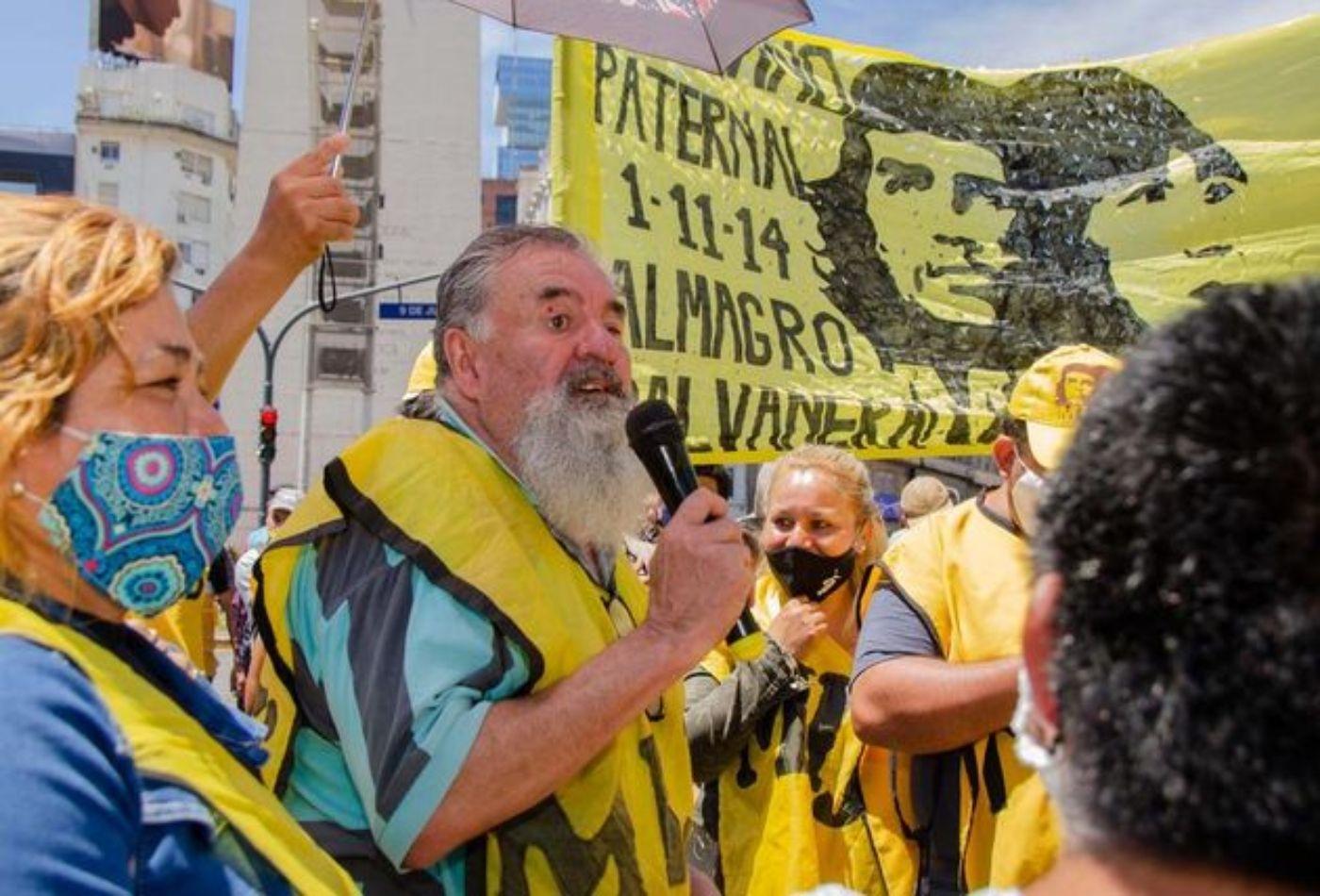 corte y protesta en puente pueyrredon