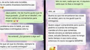 Viral: una novia celosa pide que sea una vendedora fea la que atienda a su novio