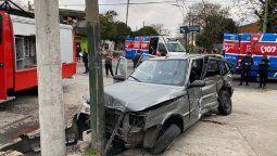Dos choques en Lomas de Zamora