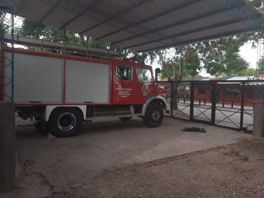 Ezeiza: los bomberos continúan con las obras para mejorar el servicio