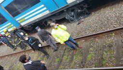 tragedia en lanus: una mujer se arrojo a las vias del tren roca