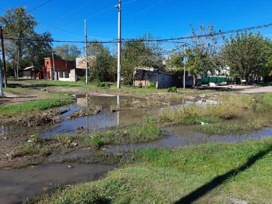 La esquina de Glew que se convirtió en una laguna