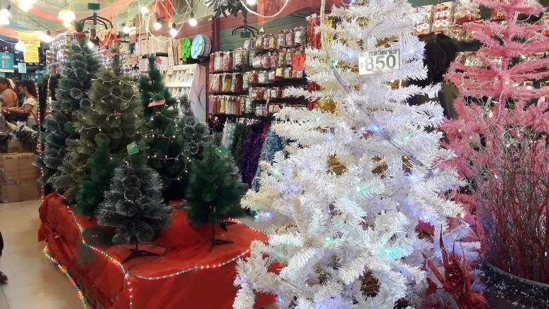 Monte Grande: a cuánto venden los árboles de Navidad y los adornos
