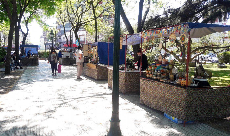 Reabrieron las ferias de artesanos en Esteban Echeverría