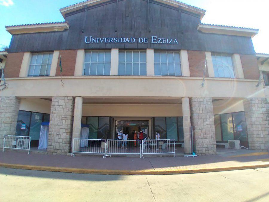 Ezeiza cambió las sedes de vacunación contra el coronavirus