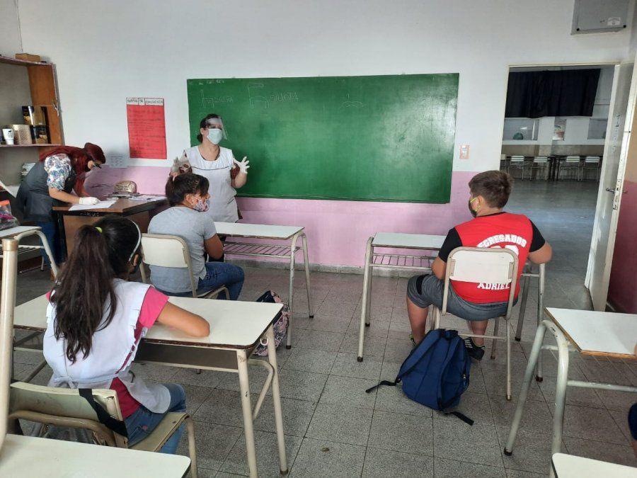 Empiezan las clases en Ezeiza: cómo son los preparativos