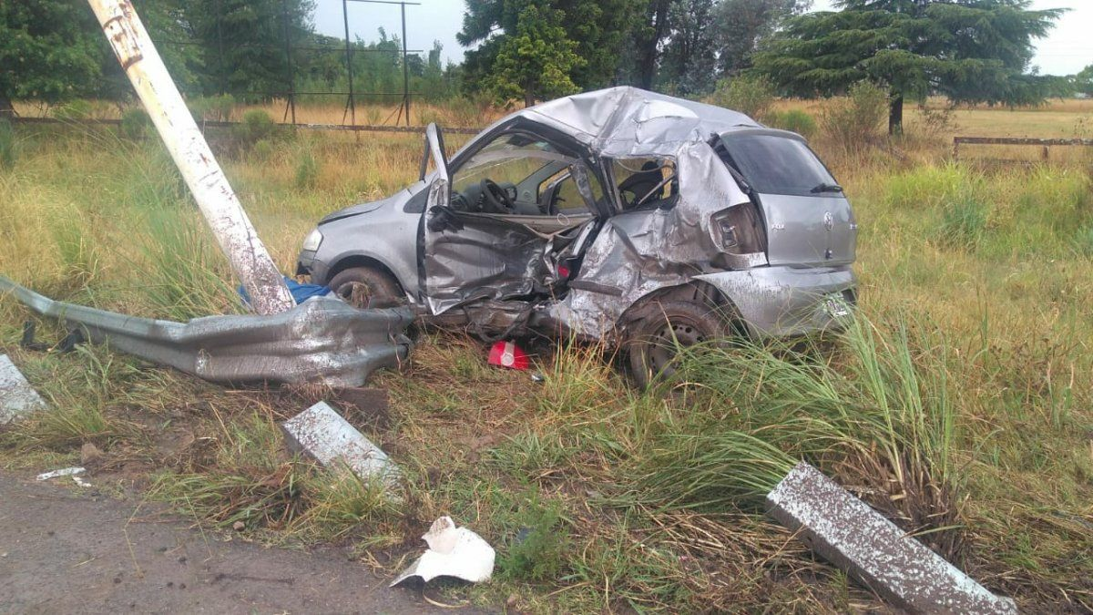 Grave accidente en la ruta 6 en Alejandro Korn