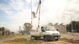 esteban echeverria: el municipio ya coloco 500 camaras de seguridad