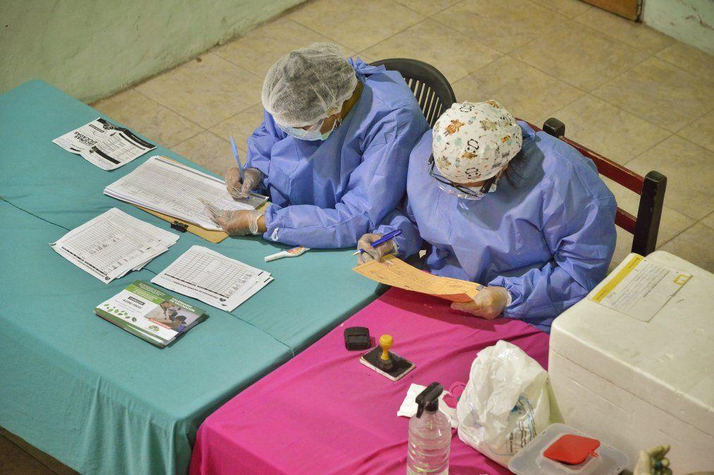 Esteban Echeverría: amplían operativo de vacunación de niños