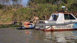 encontraron muerto al vecino de lomas que era buscado en el rio parana