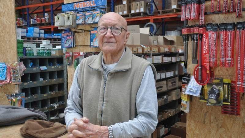 Víctor Elso, comerciante y vecino querido por todos.