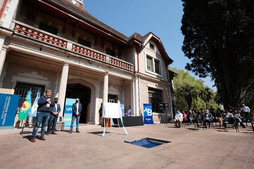 Habrá un Polo Educativo en Rafael Calzada vinculado con la Universidad Nacional Guillermo Brown