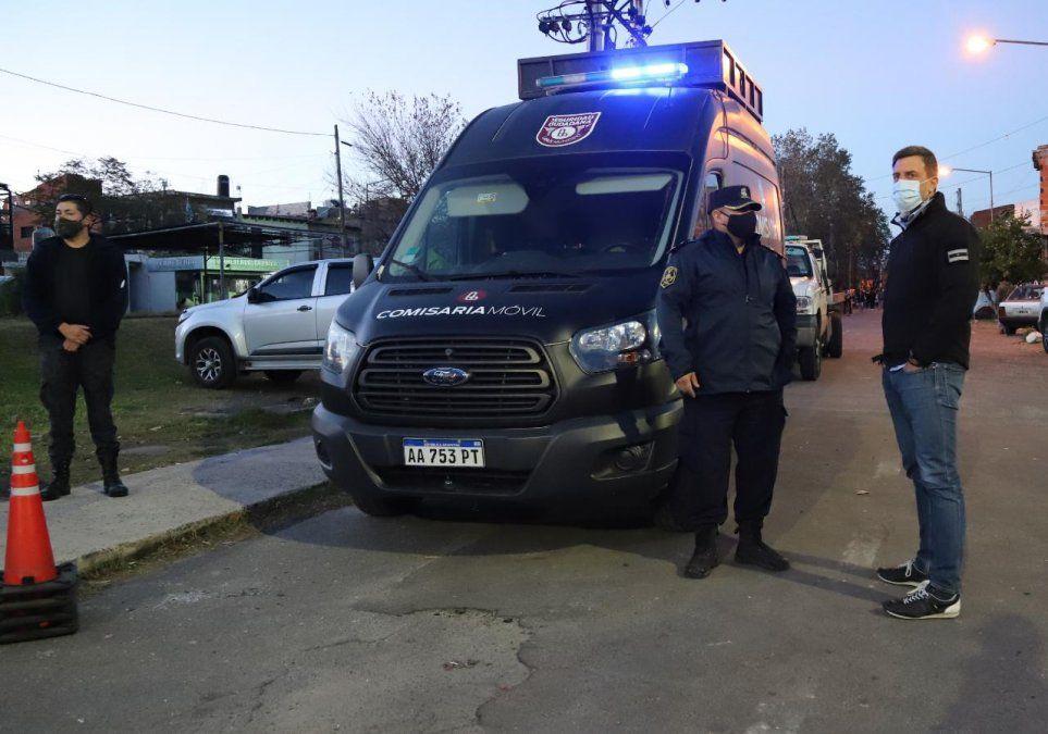 Tres detenidos en Lanús por tenencia de drogas y amenazas