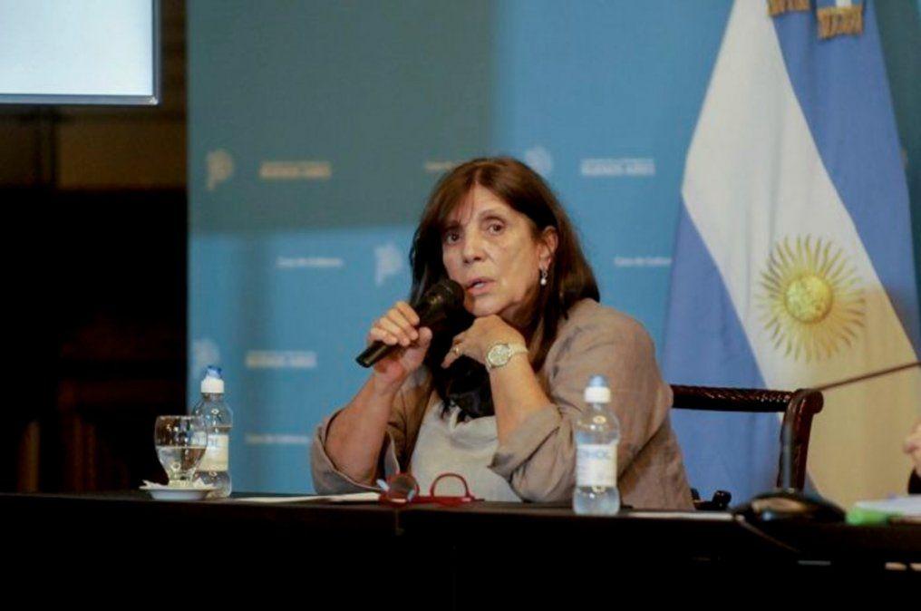 Teresa García, ministra de Gobierno de la provincia, confirmó que la puesta en disposición de la renuncia de los ministros.