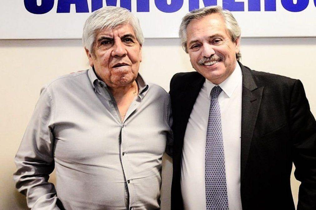 Hugo Moyano habló en conferencia en el predio de Camioneros, en Esteban Echeverría.