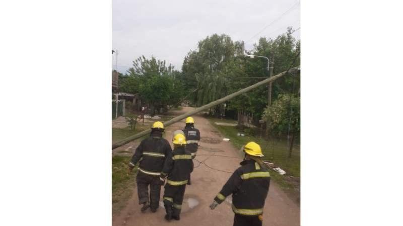 Destrozos en Ezeiza: así quedó la ciudad después de la tormenta