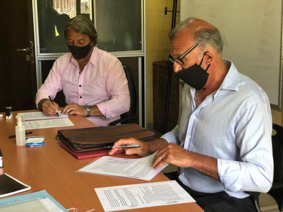 Polémico: Osvaldo Salí firmó un pre acuerdo con el club Platense para hacer una mega obra