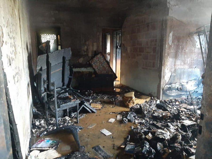 Un hombre perdió la vida en un incendio en Longchamps