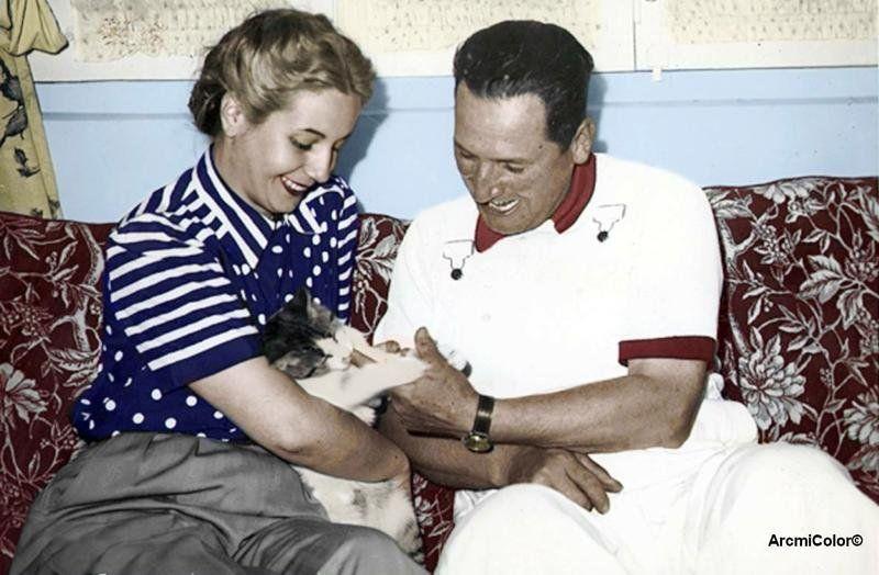 Perón y Evita tuvieron sus