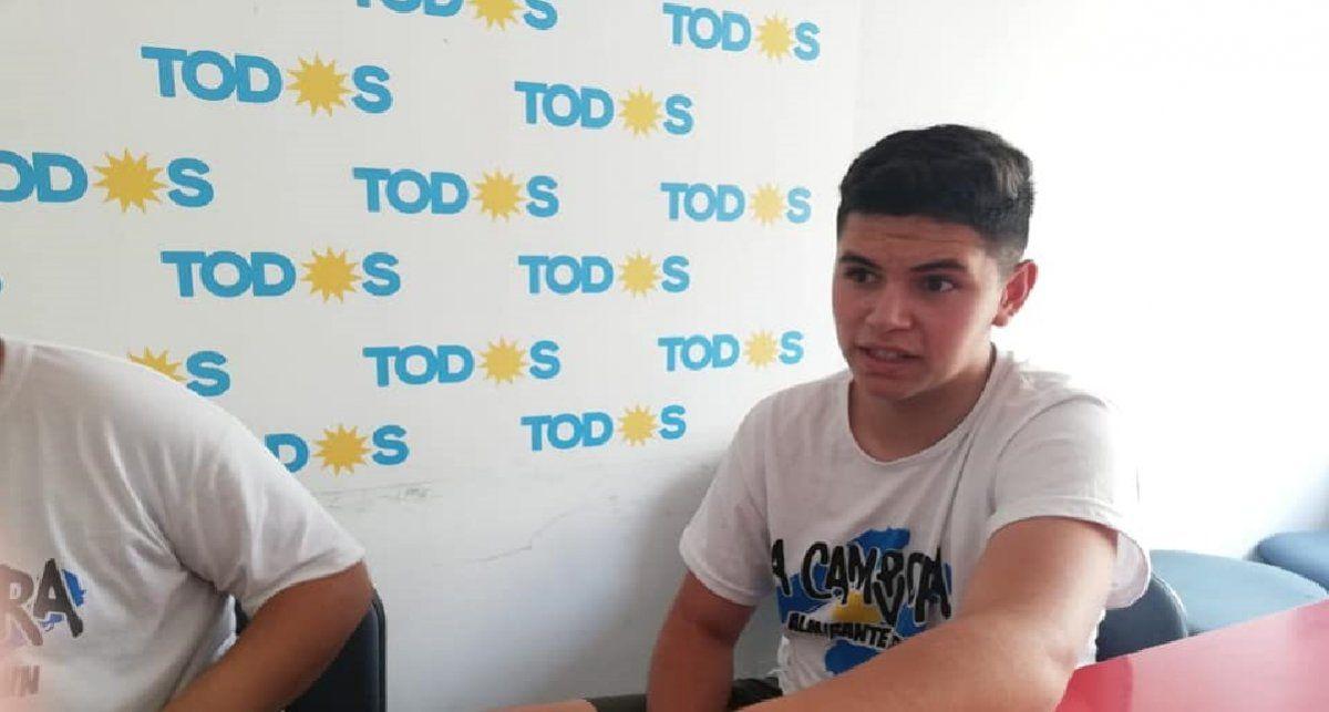 Dolor en Almirante Brown por la muerte de un militante de La Cámpora de 16 años